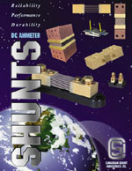 CSI Shunt Catalogue